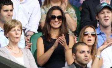 Pippa Middleton steals the Wimbledon show with see-through dress