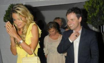 Declan Donnelly snapped with ex Georgie's best pal Charlotte