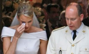 Princess Charlene's tears after her wedding to Prince Albert