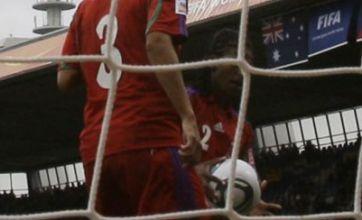 Watch: Equatorial Guinea's Bruna in handball howler during Women's World Cup