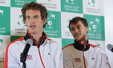 Andy Murray 'upbeat and positive' ahead of Davis Cup return