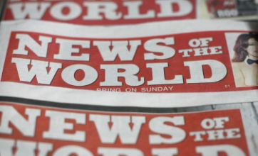 Hundreds are put out of work as News of the World shuts