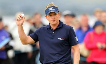 Luke Donald wins Scottish Open but Colin Montgomerie is down and out