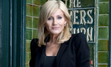 Michelle Collins' Coronation Street character to be run over by Carla