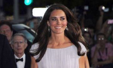 Kate Middleton's Alexander McQueen dress gets thumbs up on Twitter