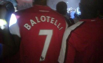 Has Mario Balotelli signed for Arsenal during tour of Kuala Lumpur?