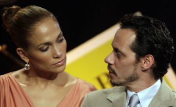 Did Jennifer Lopez and Marc Anthony split because of her topless scene?
