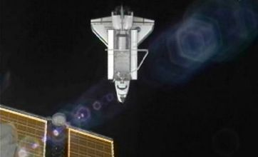 Atlantis heads home as final space shuttle mission nears end