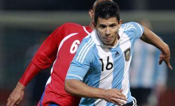 Manchester City's Sergio Aguero bid goes ahead as Tevez stays put