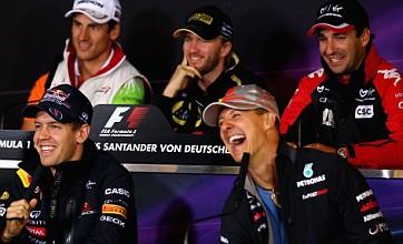 German grand prix: Danger is still the middle lane at Nurburgring
