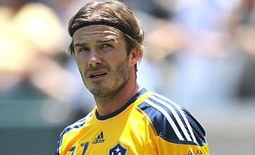 David Beckham backs Wesley Sneijder transfer to Manchester United