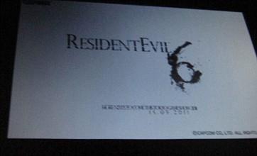 Resident Evil 6 reveal at Tokyo Game Show says insider