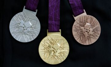 London 2012 Olympic medals revealed in Trafalgar Square