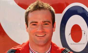 Flt Lt Jon Egging's wife 'proud' of Red Arrows pilot killed in crash