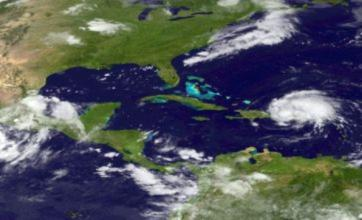 Hurricane Irene heading for Britons holidaying in the Bahamas