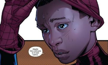 Marvel Comics reveals the new Spider-Man is black