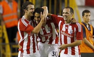 Stoke line up strike trio to bolster Europa League hopes