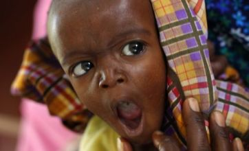 Symbol of hope in Somalia as aid saves seven-month old from death
