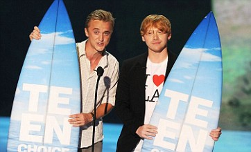 Harry Potter dominates Teen Choice Awards with six prizes