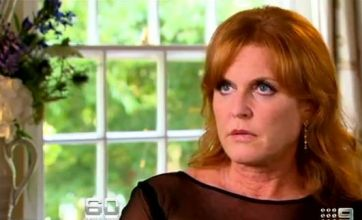 Sarah Ferguson storms out of 60 seconds interview on Aussie TV