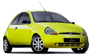 Ford Ka 'least likely car to be stolen', while the Toyota Yaris is hot property