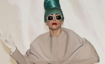 Lady Gaga borrowed dress from British fashion student