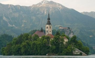 Lake Bled is Slovenia's star attraction