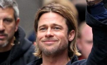 Brad Pitt hysteria grips Glasgow as he films zombie movie World War Z