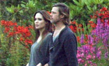Brad Pitt takes break from World War Z to spend time with Angelina Jolie