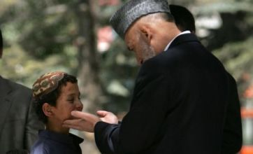 Twenty child bombers pardoned by Afghan president Hamid Karzai