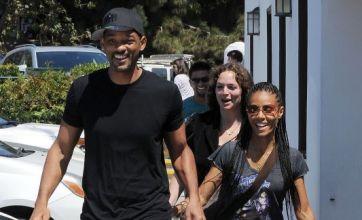 Will Smith and Jada Pinkett-Smith look loved up despite divorce rumours