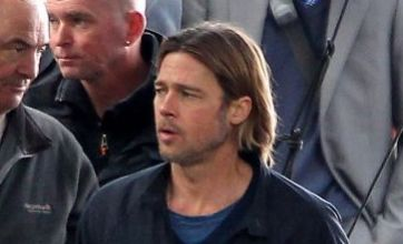 Brad Pitt continues filming World War Z in Glasgow as video shows crash