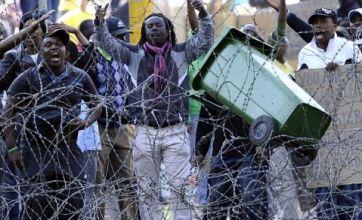 Riot puts South African president Jacob Zuma under pressure