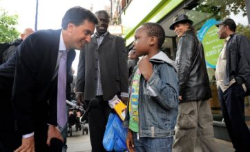 Ed Miliband takes to the streets of Lewisham to connect with locals