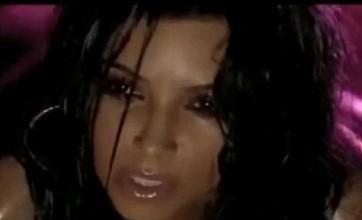 Kim Kardashian's raunchy music video leaked online