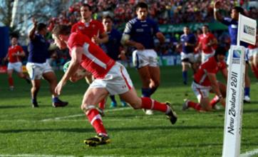 Shane Williams rescues Wales in narrow win over Samoa