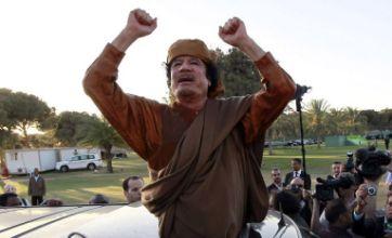 Colonel Muammar Gaddafi: Let Libya burn – we will fight on against rebels