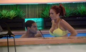 Amy Childs and Kerry Katona fight for Lucien Laviscount's affections
