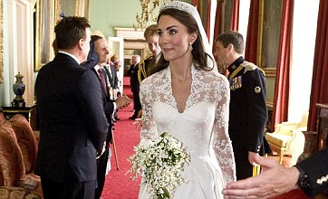 Kate Middleton's Buckingham Palace wedding dress display breaks records