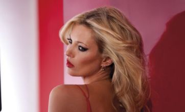 Kate Moss strips to her knickers for new Rimmel advert