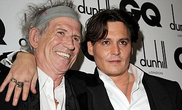 Johnny Depp reunited with Pirates co-star Keith Richards at GQ Awards