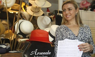 Arsenal force Spanish woman to change the name of her hat shop