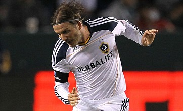 Spurs and QPR's David Beckham transfer hopes thwarted by LA Galaxy