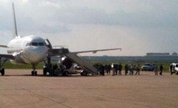 Couple kissing in plane toilet halt flight from Denver to Detroit