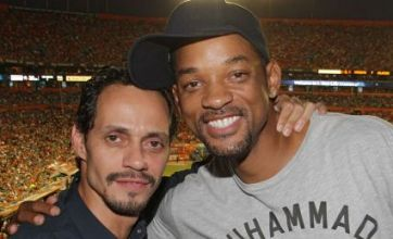 Will Smith and Marc Anthony all smiles as they put rift rumours to bed