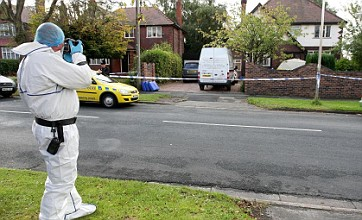 Man arrested after suspected burglar is stabbed to death in Stockport
