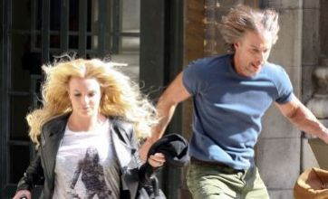 Britney Spears and Jason Trawick go on the run in Criminal video shoot