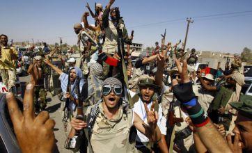 Colonel Gaddafi troops 'seize British mercenaries'