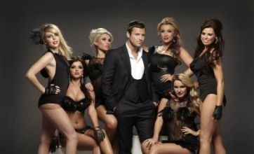 The Only Way Is Essex girls fawn over Mark Wright in series three photos
