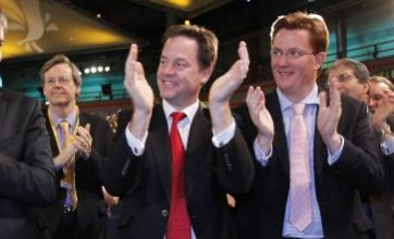 Nick Clegg at Lib Dem party conference: I called it wrong on euro
